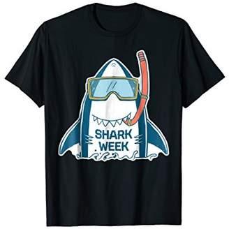 Week of The Shark T-Shirt - New 2018 Novelty Graphic Shirt
