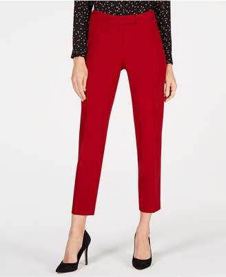 Anne Klein Slim Straight-Leg Pants