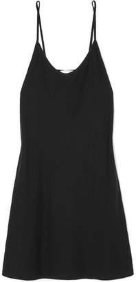 Skin - Essentials Pima Cotton-jersey Chemise - Black