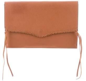 Rebecca Minkoff Leather Tassel Clutch