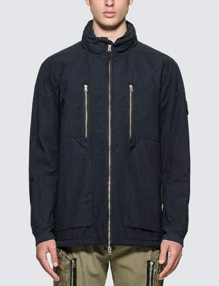 Stone Island Shadow Project Frag Collar Field Jacket With Stowable Split Hood