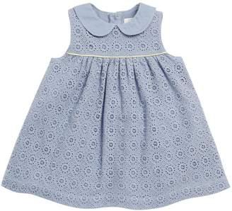 Mamas and Papas Lace Collar Dress