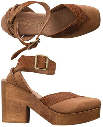 Free People Walk This Way Clog $168 thestylecure.com
