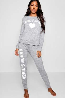boohoo Brides Squad Lounge Set