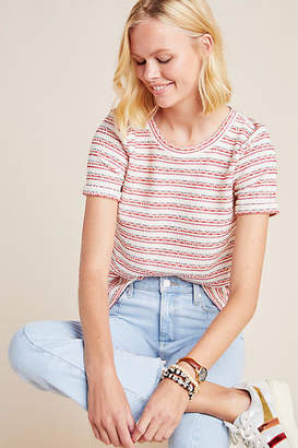 Anthropologie Cantare Textured Knit Tee