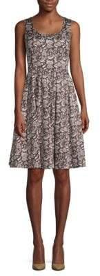 Dolce & Gabbana Paisley Cotton Dress