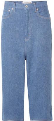 Junya Watanabe Cropped Jeans - Blue