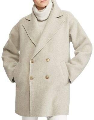 Polo Ralph Lauren Double-Breasted Merino Wool Coat