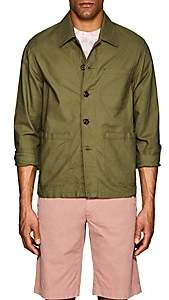Glanshirt Men's Allan Cotton Shirt Jacket - Olive