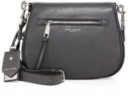 Marc by Marc Jacobs Recruit Leather Saddle Bag $450 thestylecure.com