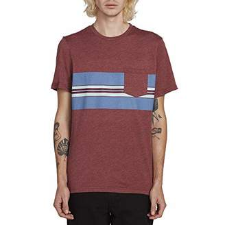 Volcom Men's The Band Short Sleeve Pocket Tee,Extra