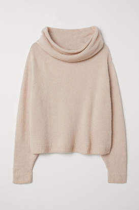 H&M H&M+ Turtleneck Sweater - Orange