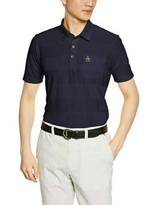 Munsingwear (マンシングウェア) - [マンシングウェア] 半袖シャツ(ニット) MGMNGA03 メンズ NV00(ネイビー) 日本 L (日本サイズL相当)