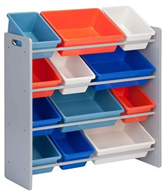 Honey-Can-Do SRT-06475 Kids Toy Organizer and Storage Bins