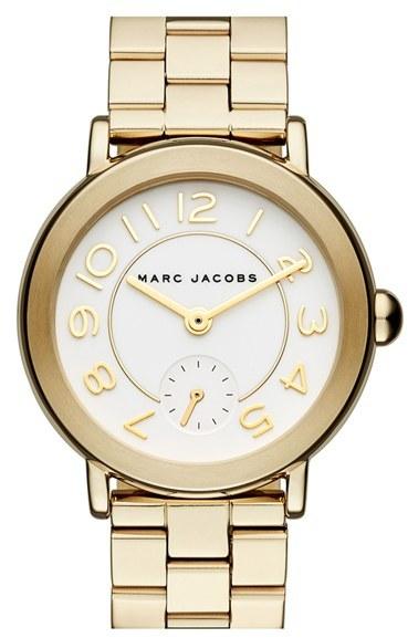 Women's Marc Jacobs 'Riley' Bracelet Watch, 36Mm