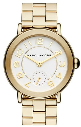 Women's Marc Jacobs 'Riley' Bracelet Watch, 36Mm $225 thestylecure.com