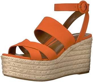 Nine West Women's KUSHALA Nubuck Wedge Sandal