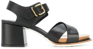 Tod's chunky heel sandals