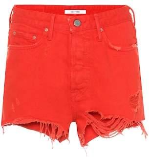 GRLFRND Cindy denim shorts