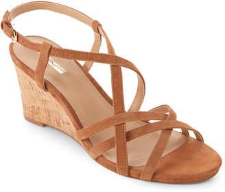Tahari Glove Future Strappy Wedge Sandals