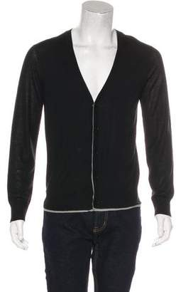 Theory Wool & Silk Layered Cardigan