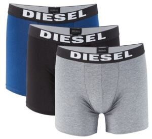 Diesel UMBX Sebastian Boxer Briefs - Set of 3