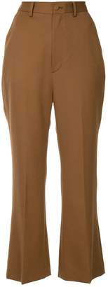 G.V.G.V. kick flare cropped trousers