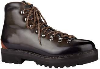 Ralph Lauren Purple Label Leather Fidel Boots