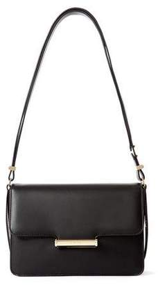 Jason Wu Diane Leather Small Flap Shoulder Bag, Black