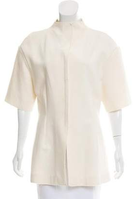 Marni Wool-Blend Short Sleeve Jacket