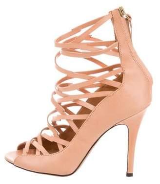 Isabel Marant Leather Caged Sandals