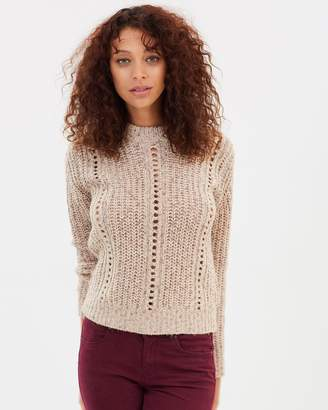 Maison Scotch Knitted Crew Neck Pullover