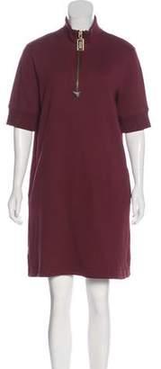 Marc Jacobs Zip-Up Mini Dress