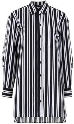 Reinaldo Lourenço striped longline shirt dress