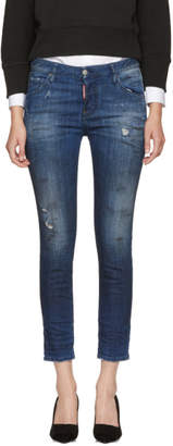 DSQUARED2 Indigo Cool Girl Jeans