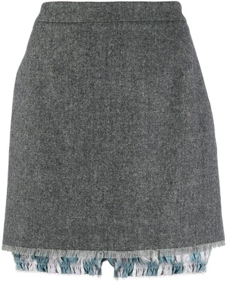 Thom Browne mini skirt with bloomers