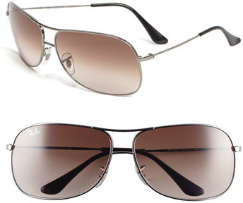 Ray-Ban 'Square Aviator' 56mm Sunglasses