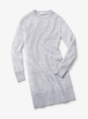 MICHAEL Michael Kors Mohair Ribbed Sweater Dress