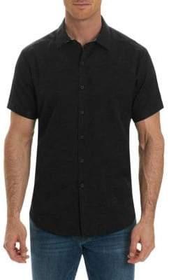 Robert Graham Short-Sleeve Paisley Button-Down Shirt