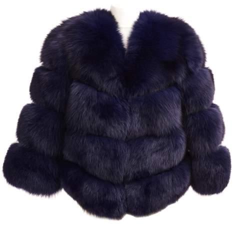 Popski London Faux Fur Kensington Jacket