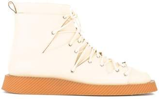 Jil Sander flat ankle boots