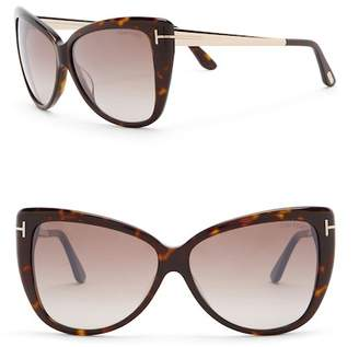 Tom Ford Women's Reveka 59mm Cat Eye Sunglasses