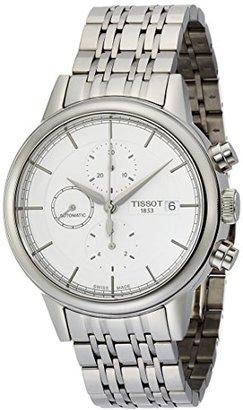 Tissot (ティソ) - [ティソ]TISSOT 腕時計 Carson Automatic Chrono(カーソン オートマチック クロノ) T0854271101100 メンズ 【正規輸入品】