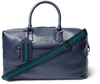 Polo Ralph Lauren Full-Grain Leather Holdall - Navy