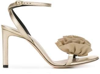Nina Ricci floral embellished sandals