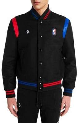 Marcelo Burlon County of Milan NBA Bomber Jacket