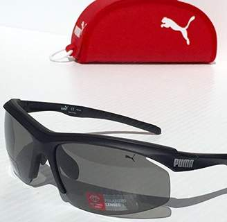 Puma Eyewear Sunglasses PU14706P Sport Wrapped Polarized Lenses