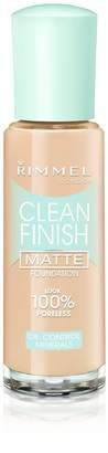 Rimmel Clean Finish Foundation Natural Ivory