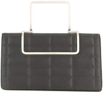 Chanel Pre-Owned chocolate bar quilt clutch