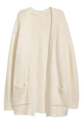 H&M Knit Cardigan - Dark gray - Women